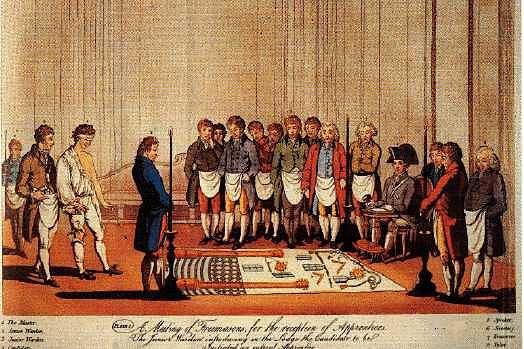 Initiation à la fin du 18e siècle